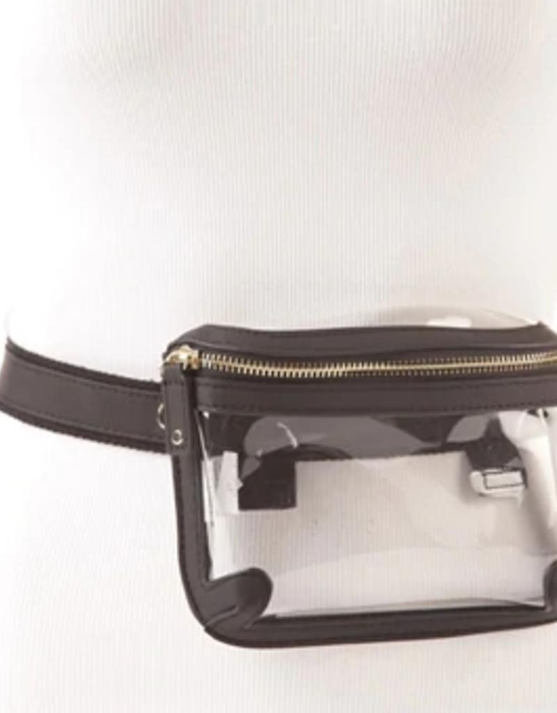 Belt Bag - Black + Gold