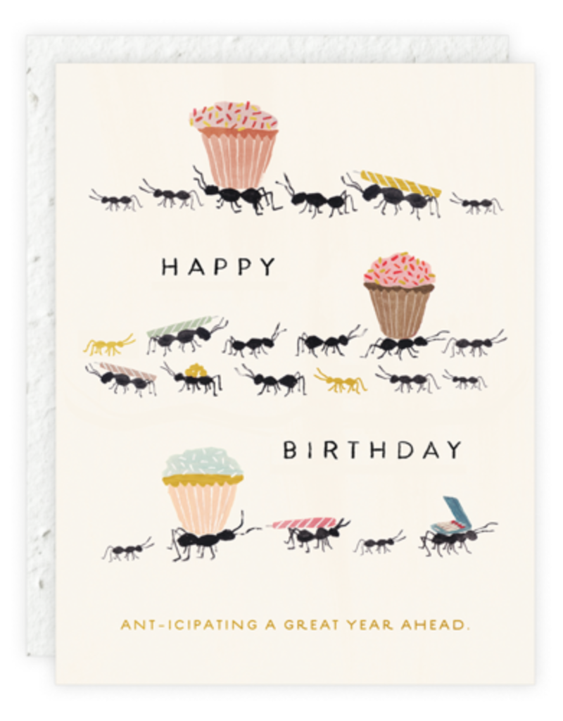 Ant-icipating A Great Year Card