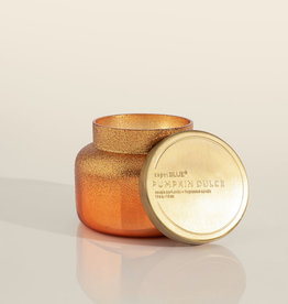 Pumpkin Dulce Copper Glittered Ombre Signature Jar