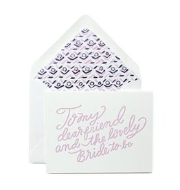 Lovely Bride to Be Card