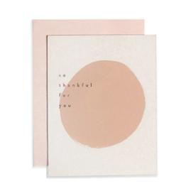 Pink Dot Thank You Card - Boxed Set
