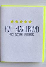 Five-Star Husband Card