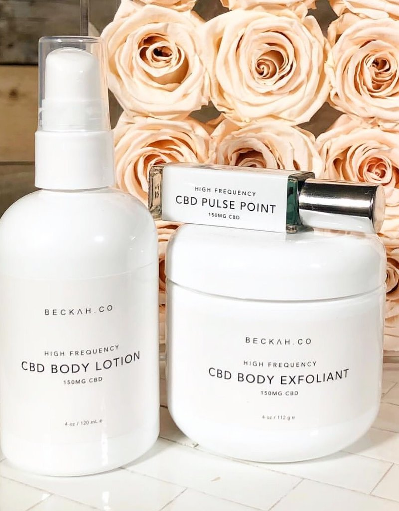High Frequency CBD Lotion