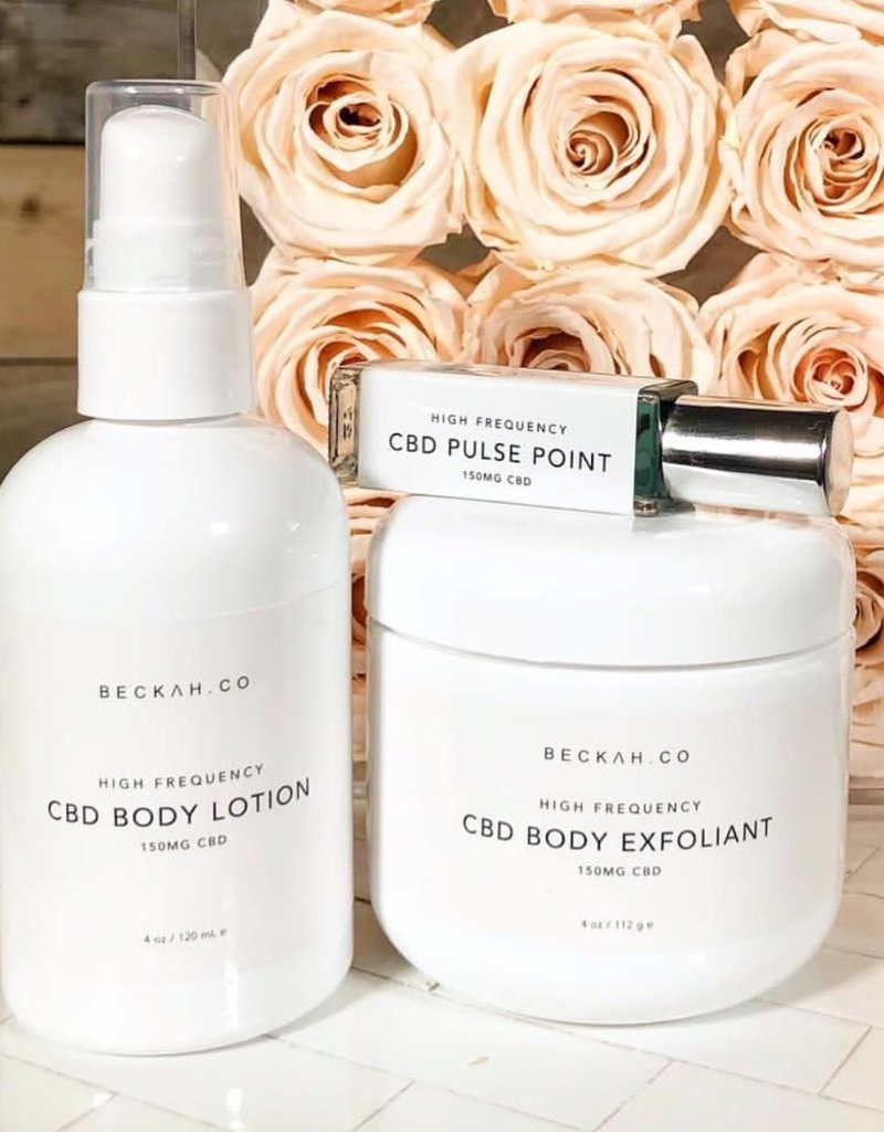 High Frequency CBD Pulse Point Treatment