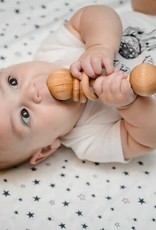 Natural Wooden Rattle
