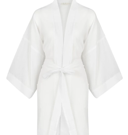 The Gusto Robe - White