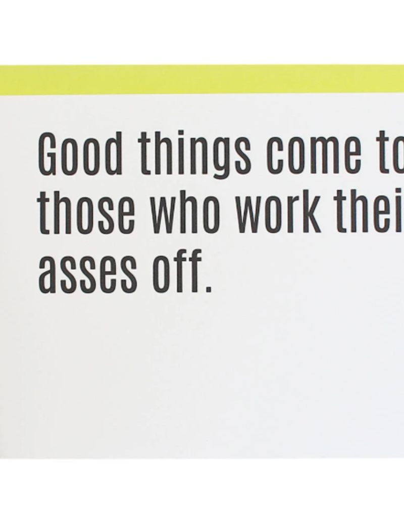 Good Things Come Card