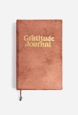 Soft Rust Velvet Gratitude Journal