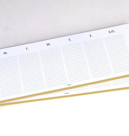 Weekly Planner Keyboard Pad