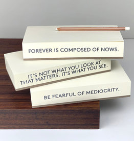 Quote Note Pad
