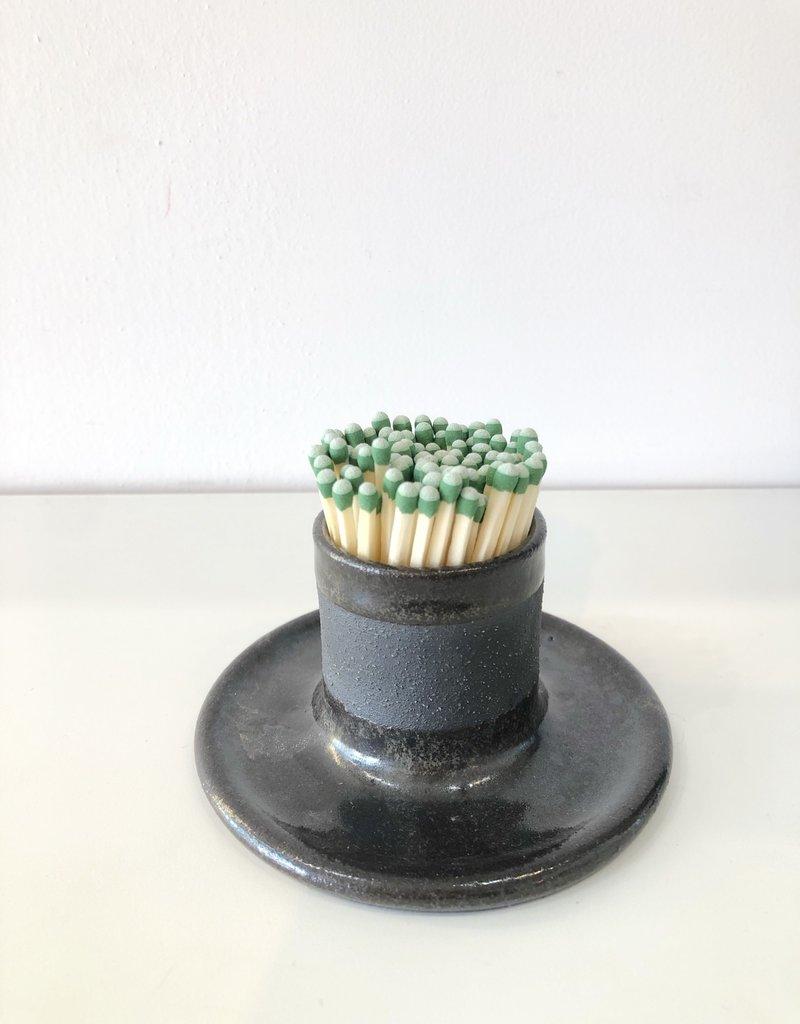 Ceramic Match Striker - Black Clay