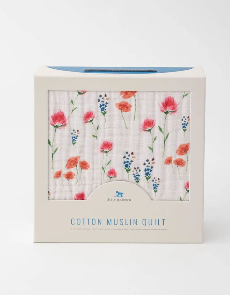 Cotton Muslin Quilt - Wild Mums