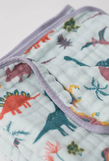 Cotton Muslin Quilt - Embroidosaurus