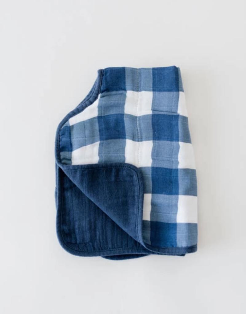 Cotton Muslin Burp Cloth - Jack Plaid