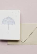The Sun Will Shine Card