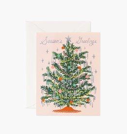 Tinsel Tree Card - Boxed Set