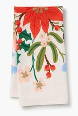 Holiday Bouquet Tea Towel