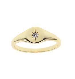 Star Signet Ring