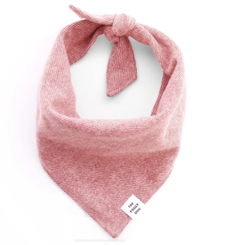 Heathered Cranberry Flannel Bandana