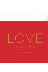 Love Is All Around Card