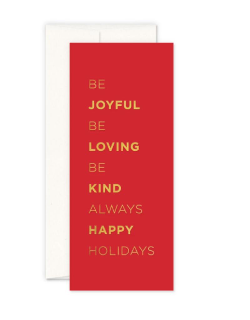 Be Joyful Card
