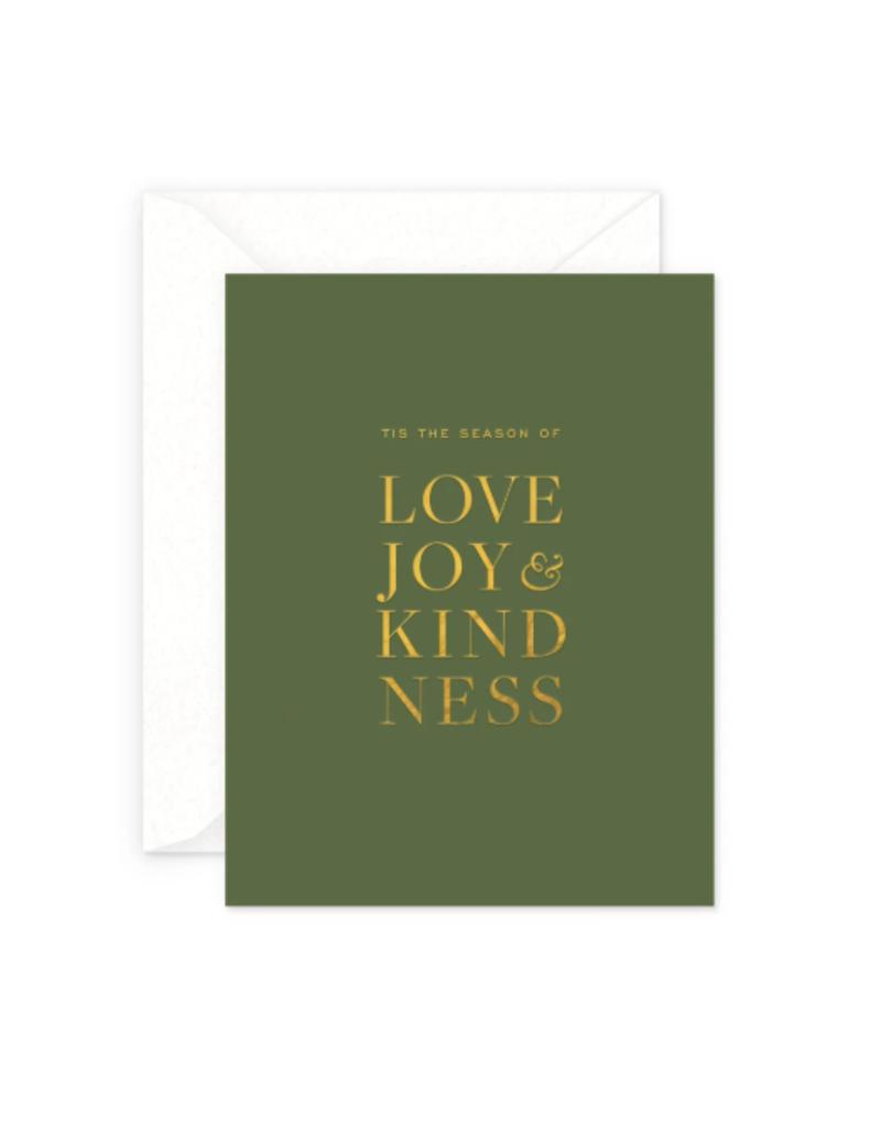 Love & Joy Holiday Card