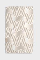 Stacked Cubes Kitchen Tea Towel