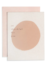 Pink Dot Thank You Card
