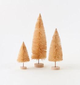 Natural Sisal Tree with Wood Base - Set of Three