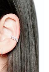 CZ Diamond Ear Cuff