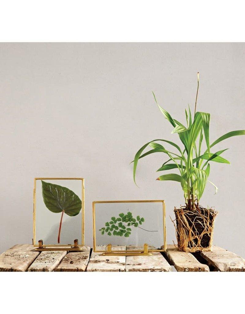 Brass & Glass Frame - Horizontal