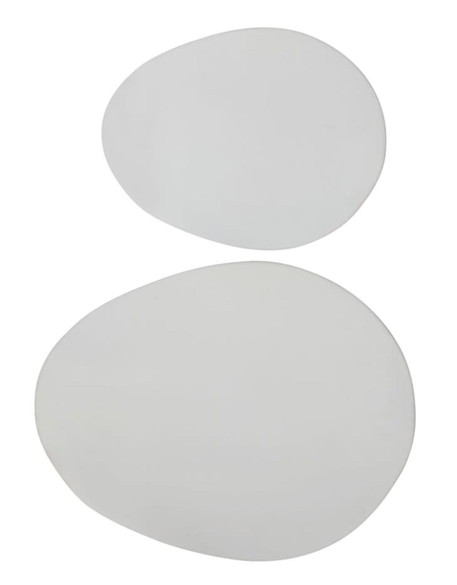 Stoneware Platter - Matte White