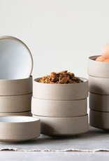 Stoneware Bowl - Matte White