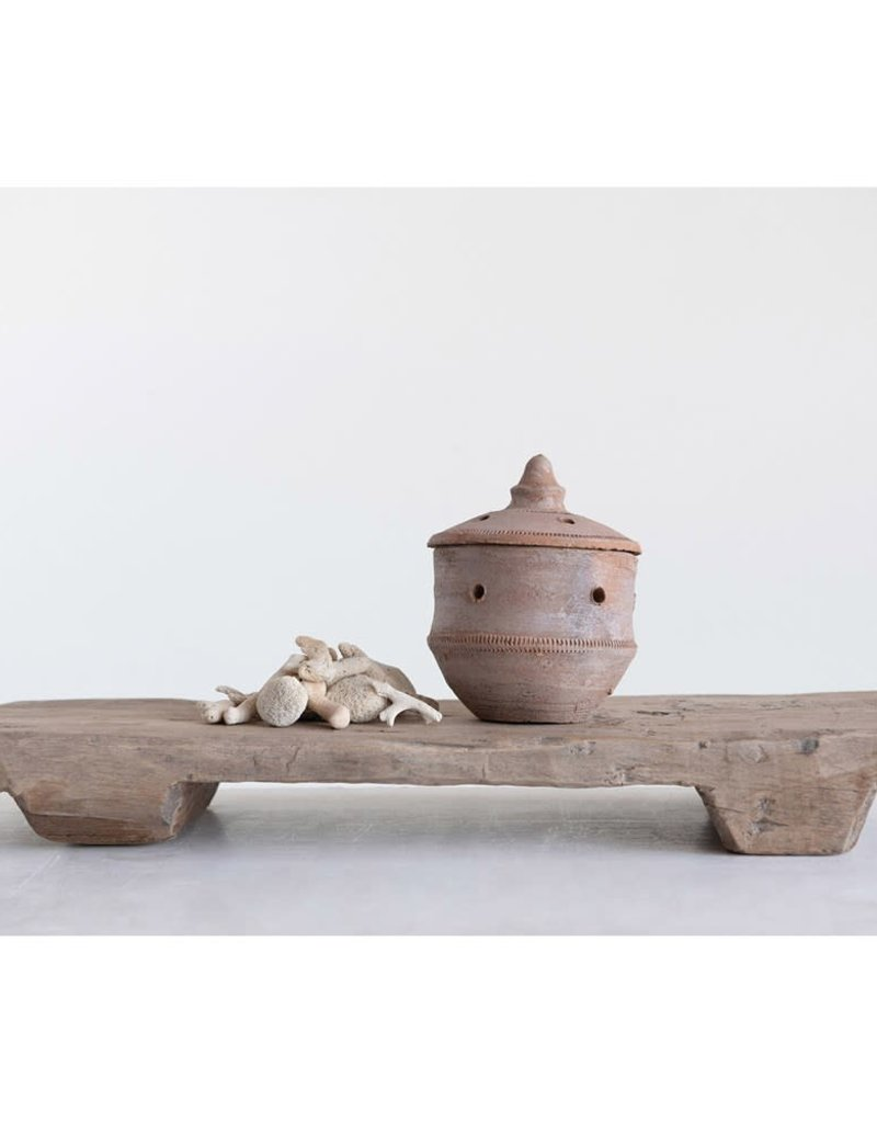 Clay Dhuni Incense Burner