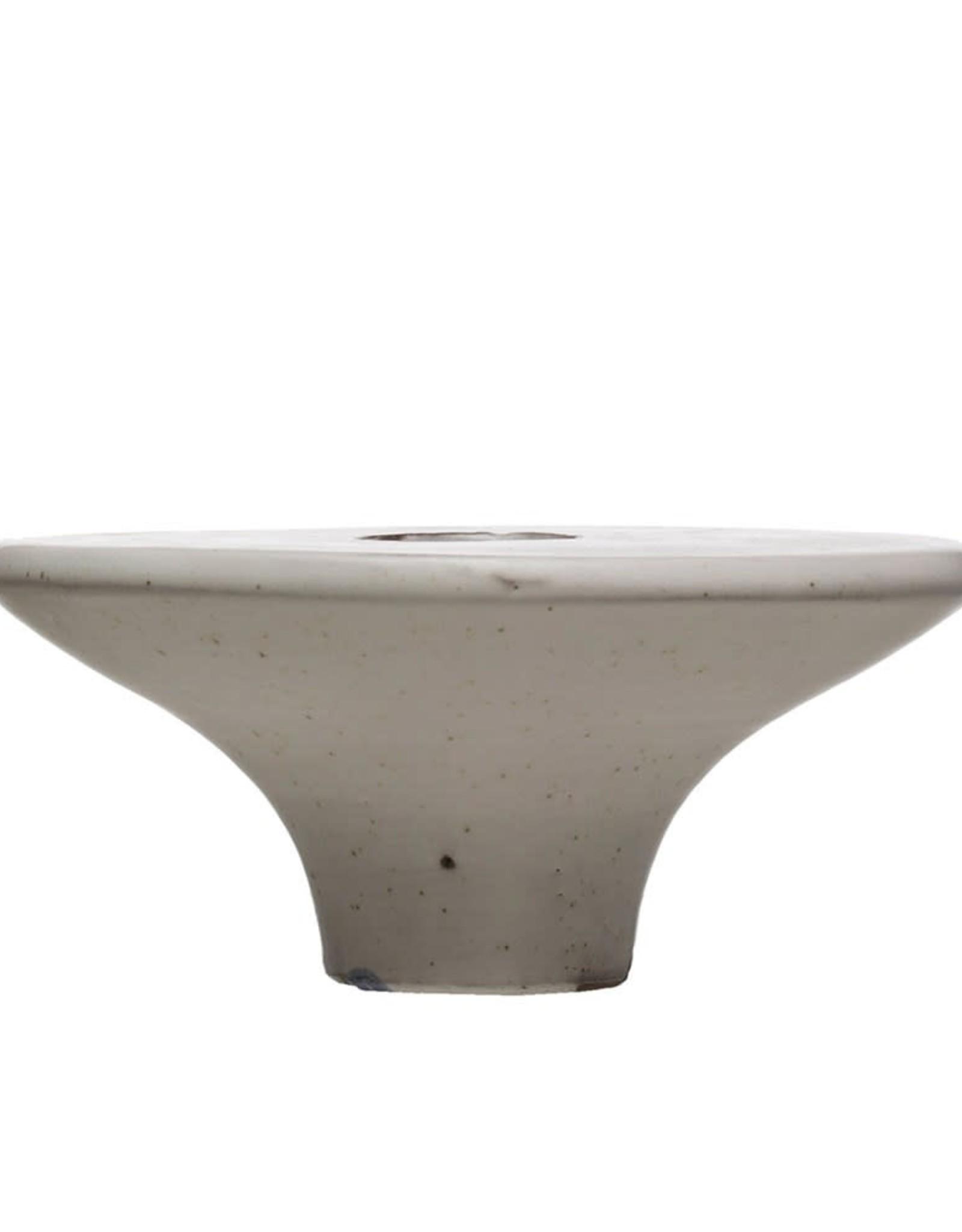 Terra-cotta Vase - White