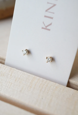 14K Mini Diamond Studs