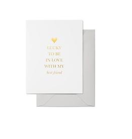 Lucky In Love Card
