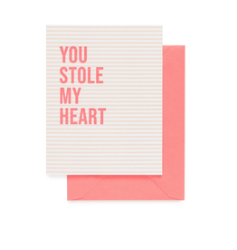 You Stole My Heart Card