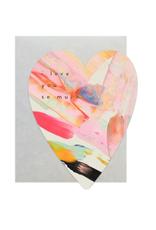 Rainbow Heart Card