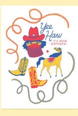 YeeHaw Birthday Card