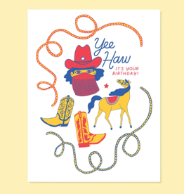 YeeHaw Birthday Card
