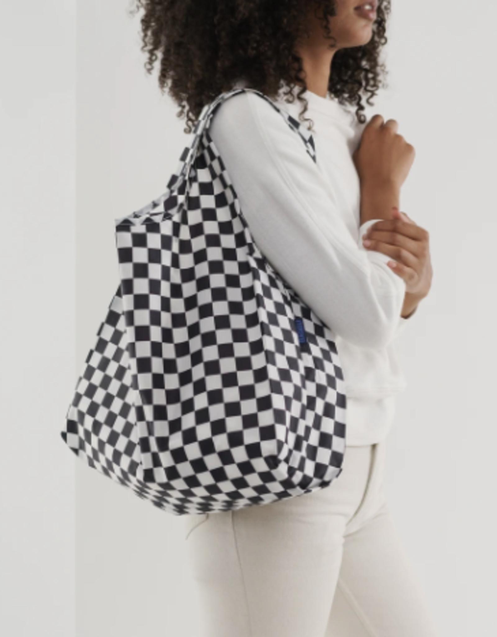 Standard Baggu - Black Checkerboard