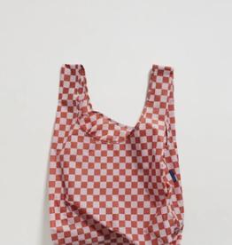 Standard Baggu - Rose Checkerboard