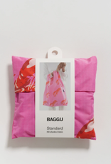Standard Baggu - Pink Lobster