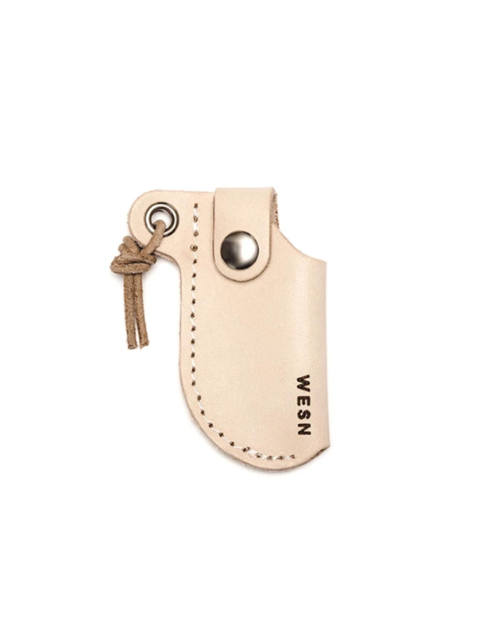 Micro Blade Leather Pocket Knife Sheath