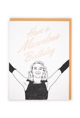 Marvelous Birthday Card
