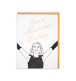 Marvelous Birthday Card
