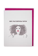 Lizzo Birthday Card