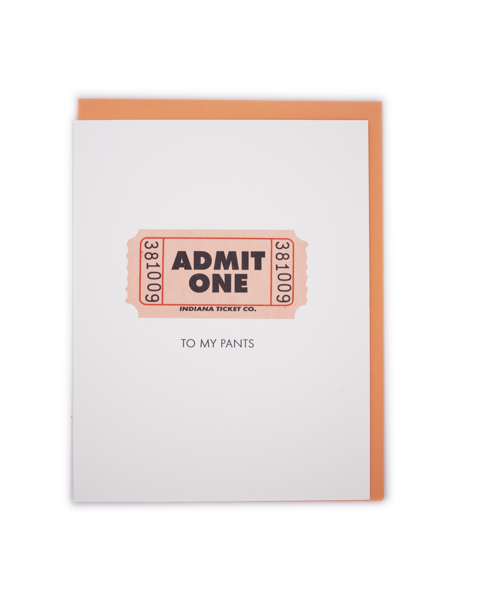 Admit One Card