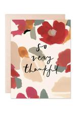 So Very Thankful Moss Card
